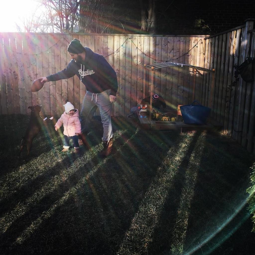 Enjoying the beautiful sunshine feeling excited for spring itsonlyfebruary familyiseverythinghellip