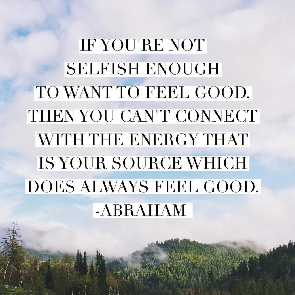 True story! Be selfish today so you can feel goodhellip