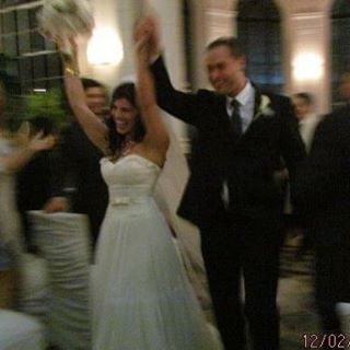 Hooray! 12 years together but 5 years married today Ihellip
