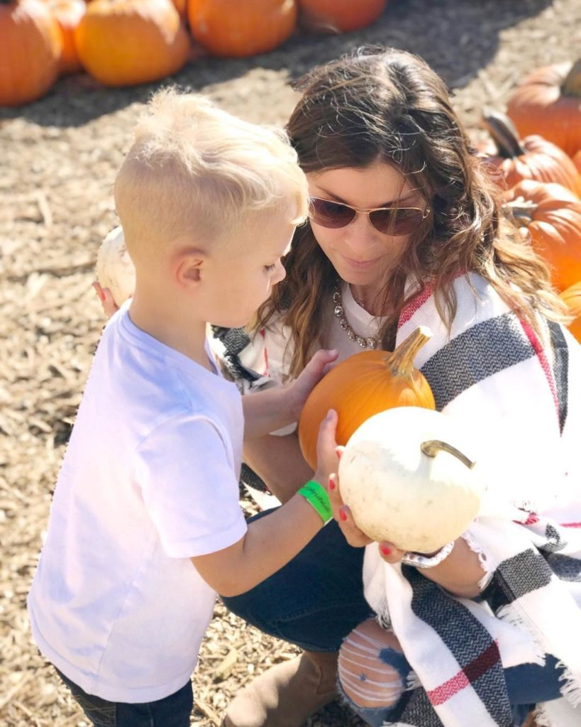 Family day today took us to the Pumpkin Patch Ihellip